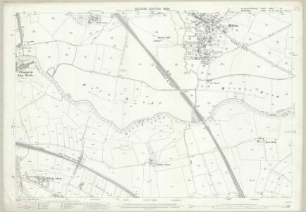 Gloucestershire LXXVI.12 (includes: Bitton; Keynsham) - 25 Inch Map