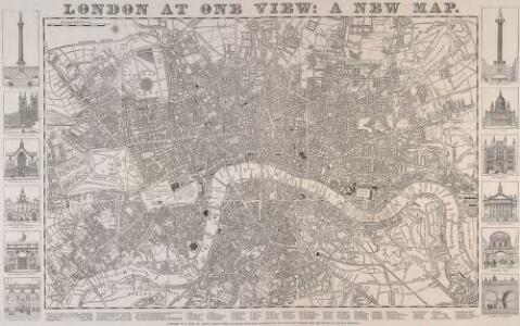 LONDON AT ONE VIEW: A NEW MAP