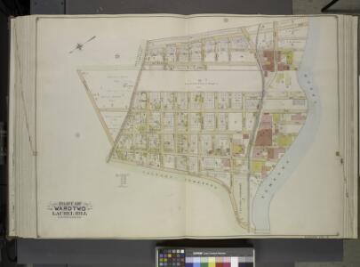 Queens, Vol. 2, Double Page Plate No. 30; Part of     Ward Two Laurel Hill; [Map bounded by Berlin Ave., Newtown Creek, Laurel Hill    Boulevard; Including Newtown Ave., Old Brook School Road, Newtown Turnpike]