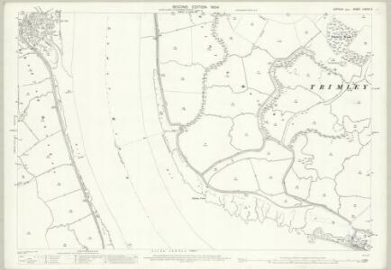 Suffolk LXXXIX.3 (includes: Shotley; Trimley St Martin; Trimley St Mary) - 25 Inch Map