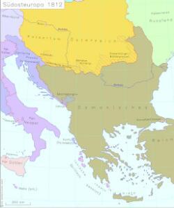 Südosteuropa 1812