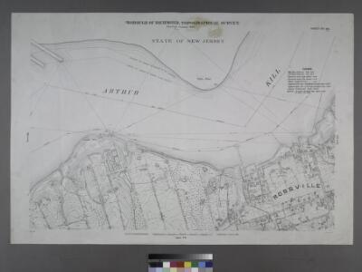 Sheet No. 66. [Includes Winant Avenue, St. Lukes Avenue,Rossville Avenue and (Arthur Kills Road) Fresh Kills Road in Rossville.]; Borough of Richmond, Topographical Survey.