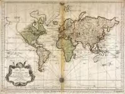 An essay of a new and compact map, containing the known parts of the terrestrial globe