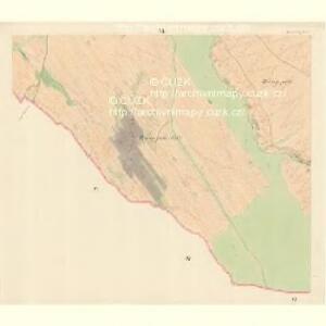Borschütz - m0176-1-006 - Kaiserpflichtexemplar der Landkarten des stabilen Katasters