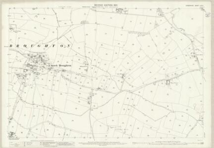 Derbyshire LIII.3 (includes: Barton Blount; Church Broughton; Foston and Scropton; Hatton; Longford) - 25 Inch Map
