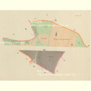 Dunagitz - c1608-1-001 - Kaiserpflichtexemplar der Landkarten des stabilen Katasters