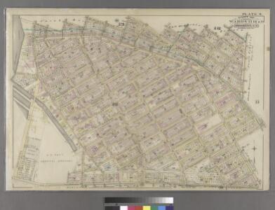 Plate 9: Part of Wards 13, 16 & 19. Brooklyn, N.Y.