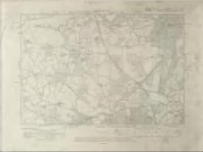 Sussex I.SE - OS Six-Inch Map