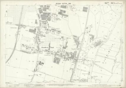 Middlesex VII.8 (includes: Edmonton All Saints; Enfield St Andrew) - 25 Inch Map