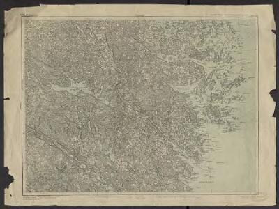 Generalstabens karta ofver Sverige. 37, Vestervik