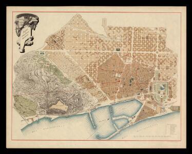 Plano del termino municipal de Barcelona / [trazado por D. J.M. Serra]