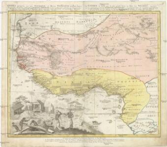 GVINEA propria nec non NIGRITIAE vel Terrae NIGRORVM maxima pars, geographis hodiernis dicta utraq[ue] AETHIOPIA INFERIOR, & hujus quidem pars australis