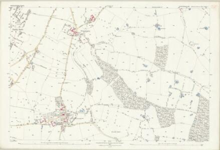 Staffordshire XXII.7 (includes: Mucklestone) - 25 Inch Map