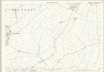 Wiltshire XVIII.12 (includes: Marshfield; Nettleton; Tormarton) - 25 Inch Map