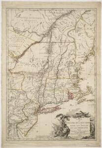 Carte du théatre de la guerre entre les Angais et les Américans