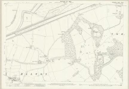 Lancashire CXV.14 (includes: Halton; Norton; Runcorn) - 25 Inch Map