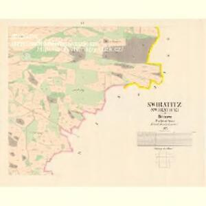 Swiratitz (Swjratice) - c7608-1-005 - Kaiserpflichtexemplar der Landkarten des stabilen Katasters