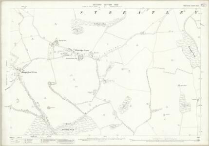 Berkshire XXVIII.1 (includes: Aldworth; Streatley) - 25 Inch Map