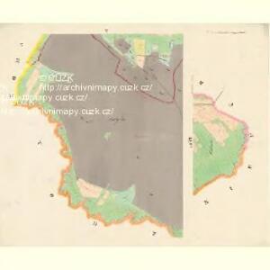 Ostrolow-Augezd - c5550-3-005 - Kaiserpflichtexemplar der Landkarten des stabilen Katasters