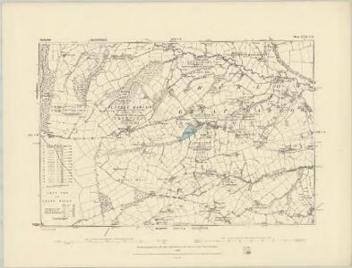 Derbyshire XVI.NE - OS Six-Inch Map