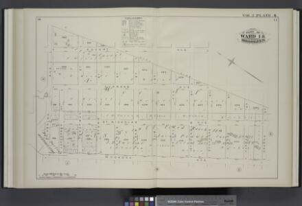 Vol. 2. Plate, K. [Map bound by City Line, Greene St., Wyckoff Ave., Flushing Ave.; Including Covert Ave., Cypress Ave., St. Nicholas Ave., Jefferson St., Troutman St., Starr St., Myrtle St., Suydam St., Elm St., De Kalb Ave., Stockholm St., Stanhope St.