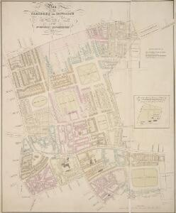 Plan OF THE PARISHES OR DIVISION OF St Giles in the Fields And ST. GEORGE, BLOOMSBURY. 1815 2