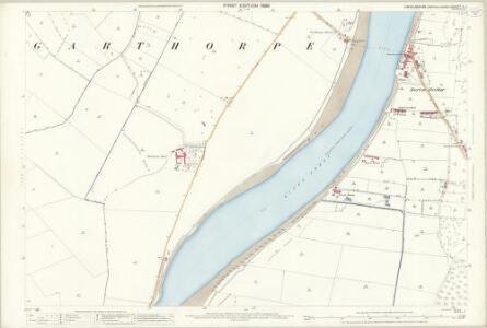 Lincolnshire X.2 (includes: Alkborough; Burton upon Stather; Garthorpe) - 25 Inch Map