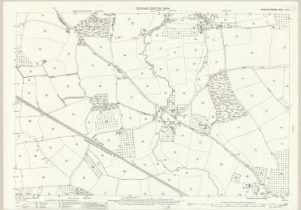 Worcestershire XLI.3 (includes: Peopleton; Pershore; Pinvin; Stoulton) - 25 Inch Map