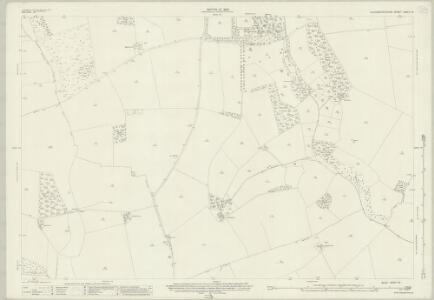 Gloucestershire XXVIII.14 (includes: Aston Blank; Haselton; Notgrove; Turkdean) - 25 Inch Map