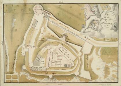 Plan de la Fortresse de Marxbourg