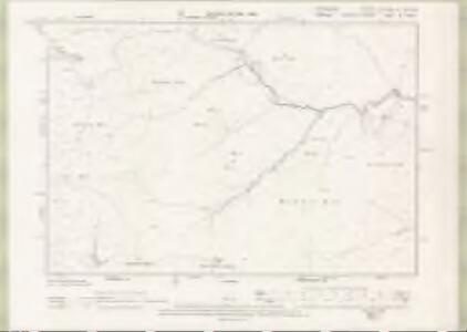 Lanarkshire Sheet XLV.NW & XLVa.NE - OS 6 Inch map