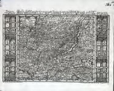 Neue und exacte geograph. Tabell von der Statt Zürich Gebiett