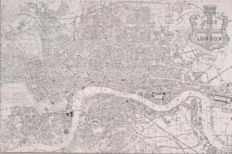 PAYNE'S IMPROVED PLAN OF LONDON