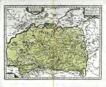 Le duche de Bovrgoigne et comte de Charolois