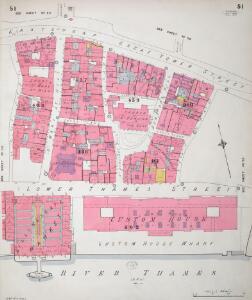 Insurance Plan of City of London Vol. III: sheet 51