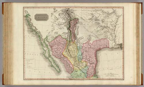 Spanish dominions in North America, northern part.