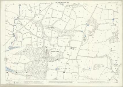 Sussex II.15 (includes: Warnham) - 25 Inch Map