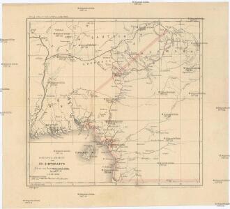 Vorläufige übersicht von Zintgraff's Reise von Kamerun nach dem Benuë