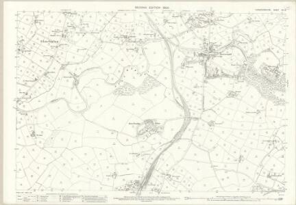 Caernarvonshire XV.12 (includes: Llanbeblig; Llanfaglan; Llanwnda; Waun Fawr) - 25 Inch Map