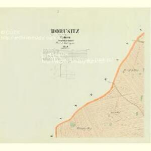 Horusitz - c2195-1-001 - Kaiserpflichtexemplar der Landkarten des stabilen Katasters