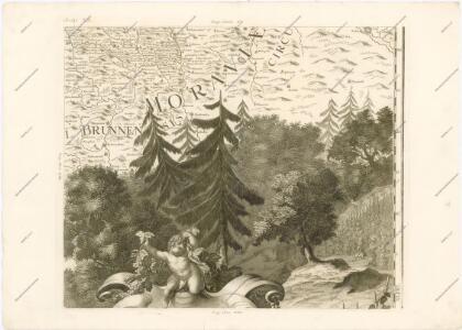 Mappa geographica regni Bohemiae in duodecim circuloc divisae ... Sectio. XX.