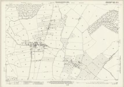 Worcestershire XXXV.15 (includes: Church Lench; Harvington; Salford Priors) - 25 Inch Map