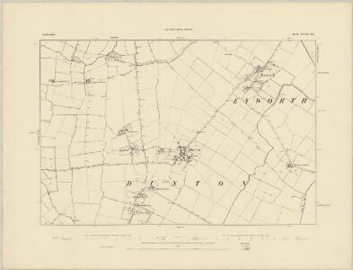 Bedfordshire XVII.SE - OS Six-Inch Map