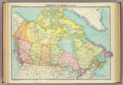 Dominion of Canada - political.