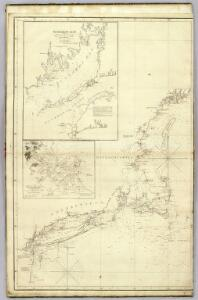The north eastern coast, North America, New York to Cape Canso (west sheet)