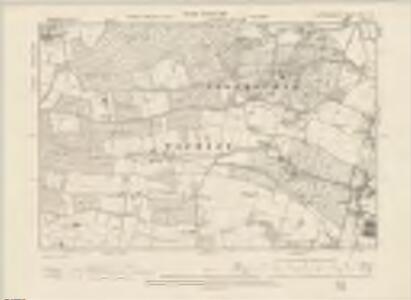 Hertfordshire XXXVI.SE - OS Six-Inch Map