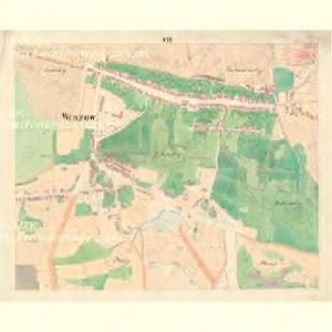 Wrazow (Wracow) - m3464-1-007 - Kaiserpflichtexemplar der Landkarten des stabilen Katasters