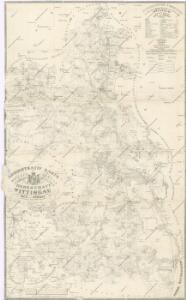 Administrativ Karte der Hochfürstlich Schwarzenberg ́schen Herrschaft Wittingau...