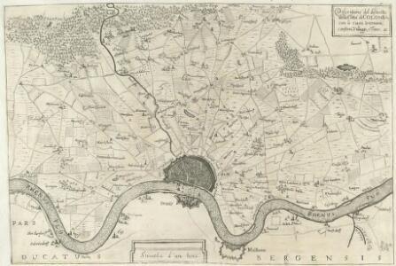Descritione del distretto della Citta di Colonia con li suoi termini Confini, Villaggi, e Terre &