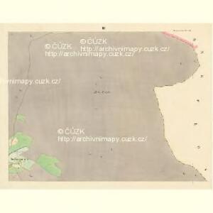 Böhmischdorf - c0963-1-003 - Kaiserpflichtexemplar der Landkarten des stabilen Katasters
